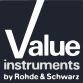 Rohde&Schwarz Value Instruments